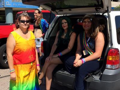 reign 42 line members at pridefest