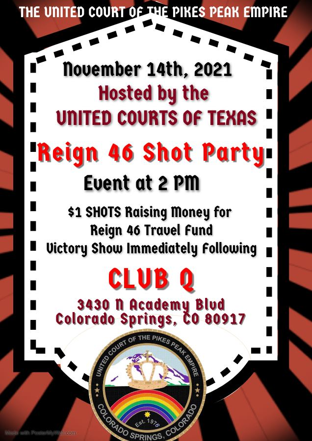 reign 46 shot party