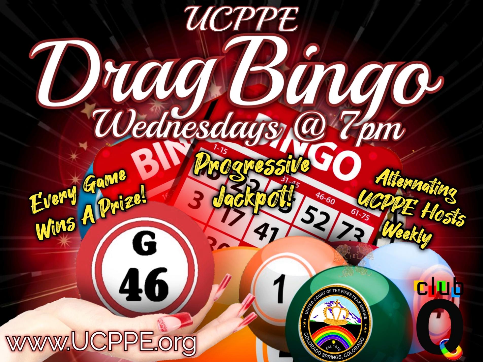 drag bingo with ucppe