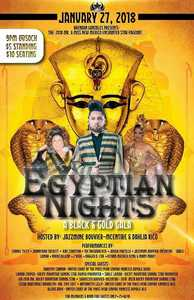 January 27 2018 Egyptian Nights UCS event